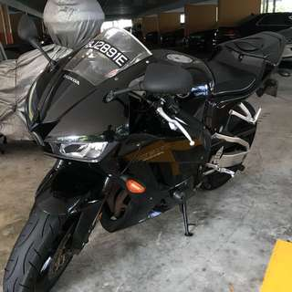 Honda CBR600rr 214