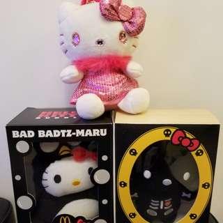 Hello Kitty x 3