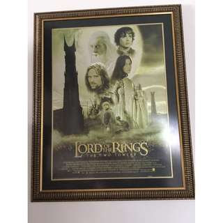 Original movie poster of Lord Of The Rings