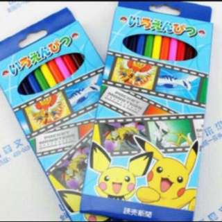 Clear Stock !!! Instock pokemon Coloring pencil brand new