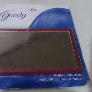 Goody pocket mirror red