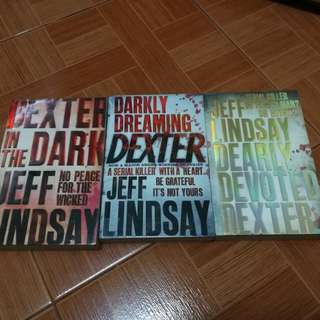 Dexter book bundle