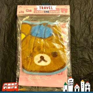 Rilakkuma Mini Towel with Pouch 鬆弛熊 一番くじ倶楽部 G賞