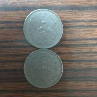 1976-1979年的港幣 (自行出價 合理即放 )