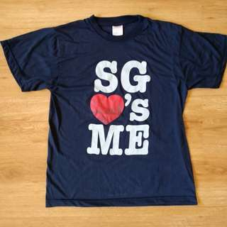 Singapore ❤s Me Short Sleeve T-shirt (free SF for MM)