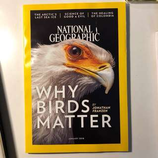 National Geographic, January 2018