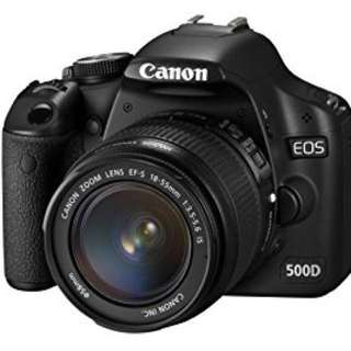 Canon EOS 500D (negotiable)