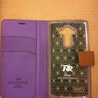 LG G4 purple flip cover
