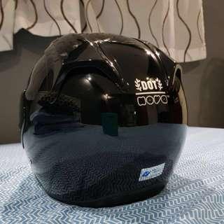 ONE WEEK OLD Nova Dot Helmet (Size L Glossy Black)
