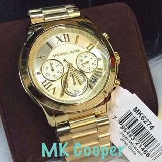 Authentic MK Cooper Watch