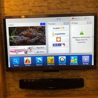 "LG 55"" LED 3D Smart TV"