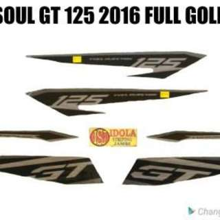 Striping Soul GT 125 2016 Full Gold