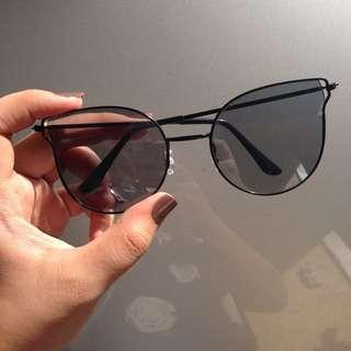 REPRICED All black sunglasses sunnies