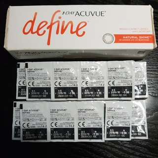 Daily ACUVUE disposable contact lens