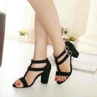 Sandal Heels Dua Gesper