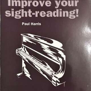 Improve your sight reading, music ABRSM