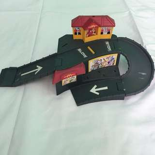 Hotwheels McDonalds Playset