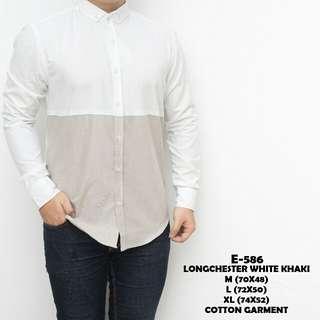 Longchester white khaki