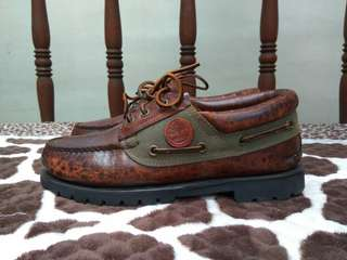 Timberland Classic 3 eye Lug Boat GoreTex not caterpillar, red wing, docmart, dr martens, rockport, hush puppies, brodo, sperry