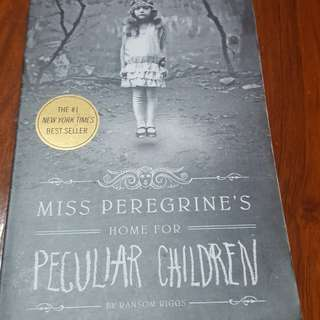 Miss Peregrine's Home for Peculiar Children Hard Cover