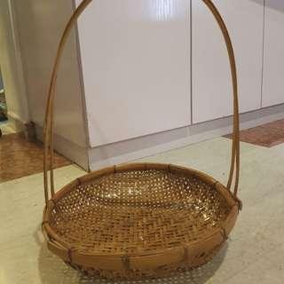 Rattan Basket (round)