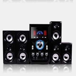 VERY NEW Speakers Heavy Base Karaoke 家庭組合音響低音炮 Home Theatre System
