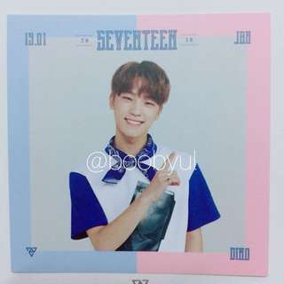 2018 SEVENTEEN SEASON GREETING PHOTOCARD [DINO]