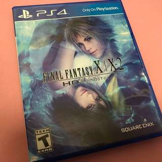 PS4 Final Fantasy X / X-II Remastered HD