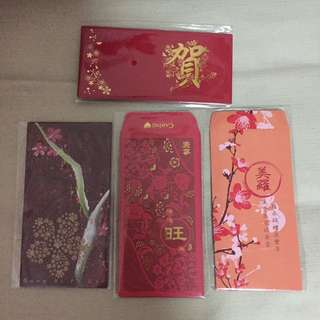 4 packs $10 - BN sealed red packet/angbao/hongbao year 2018 (Malaysia)