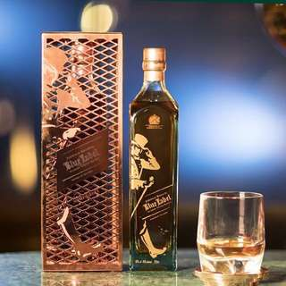 Johnnie Walker Blue Label whisky x  Tom Dixon Limited Edition 750ml