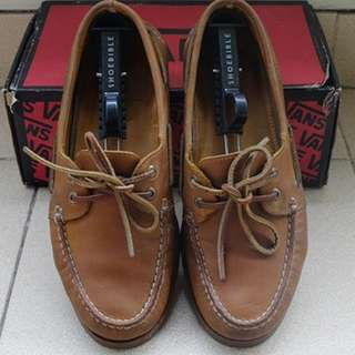 Sperry brown leather casual shoes