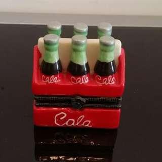 可口可樂 Coca Cola 飾物收藏盒(全新)