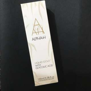 (Brand New)Alpha H liquid Gold with Glycolic Acid Toner 100ml Retail$56