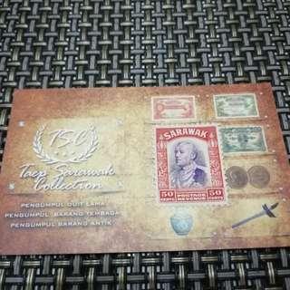 50cents Sarawak Stamps