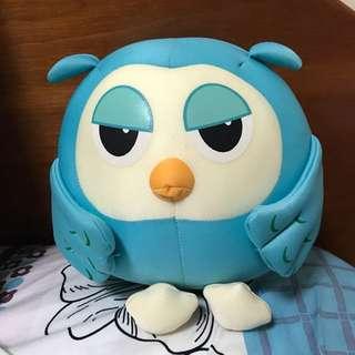 Beanbag Blue Owl