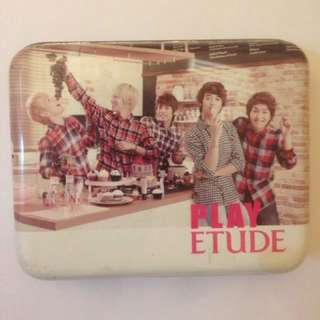 Shinee Etude House Small Metal Box