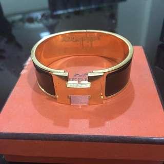 Hermes Clic Clac 'H' bracelet
