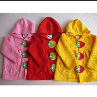 Jaket strawberry