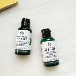 body shop tree tea oil