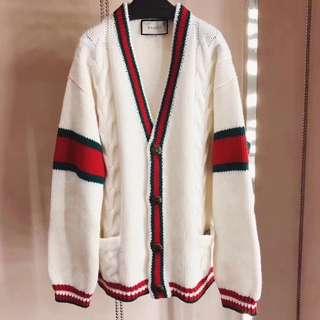 Gucci 古奇 GG 最新款 羊毛外套 外套 尺碼  S M L 女裝 男女同款