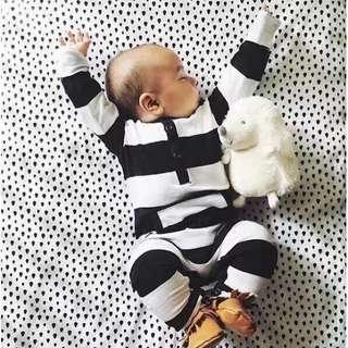 BB-0004 Baby Unisex Sleepsuit