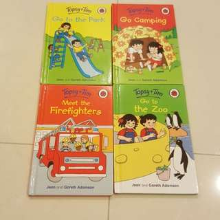 Topsy+Tim Children Story Books 4 titles