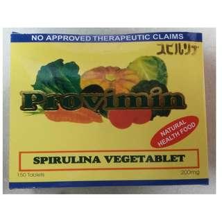 Spirulina Vegetablet