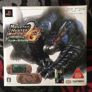 PSP 2000series - Monster Hunter 2G Jap Limited Ed (Original)