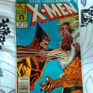 Uncannu X Men #222