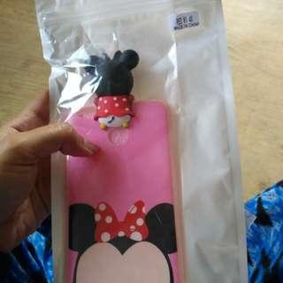 Silicon mickey pink tpu hidding