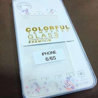 """iPhone 6/6S 4.7"""" 軟邊玻璃mon 貼"""