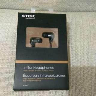 Tdk in ear headphones