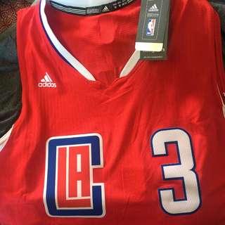 Authentic Adidas Swingman NBA jersey Chris Paul LA Clippers