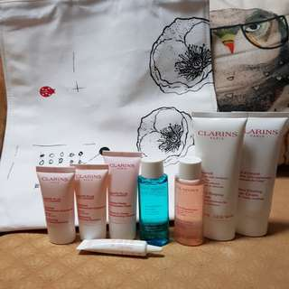 BN CLARINS Skincare Travel Set